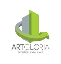 art gloria crna gora logo