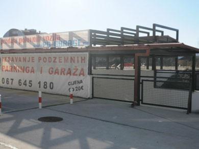 podzemna garaža pg garage crna gora