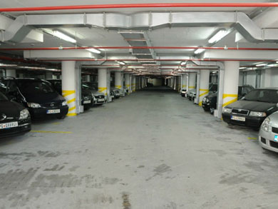 podzemna garaža podgorica pg garage crna gora