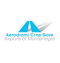 aerodrom podgorica logo
