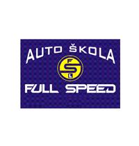 auto škola full speed crna gora logo