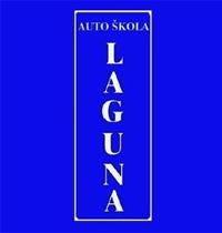 auto škola laguna crna gora logo