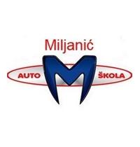 auto škola miljanić crna gora logo
