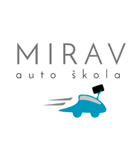 auto škola mirav 1 2 podgorica logo