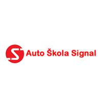auto škola signal crna gora logo