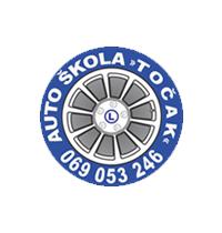 auto škola točak crna gora logo