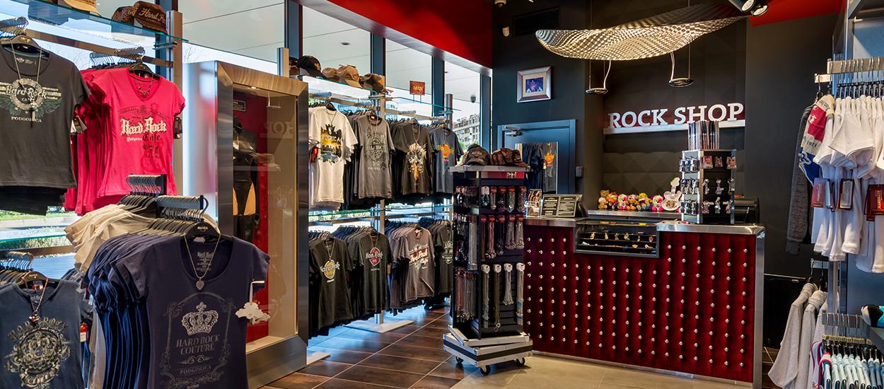 hard rock cafe podgorica rock shop