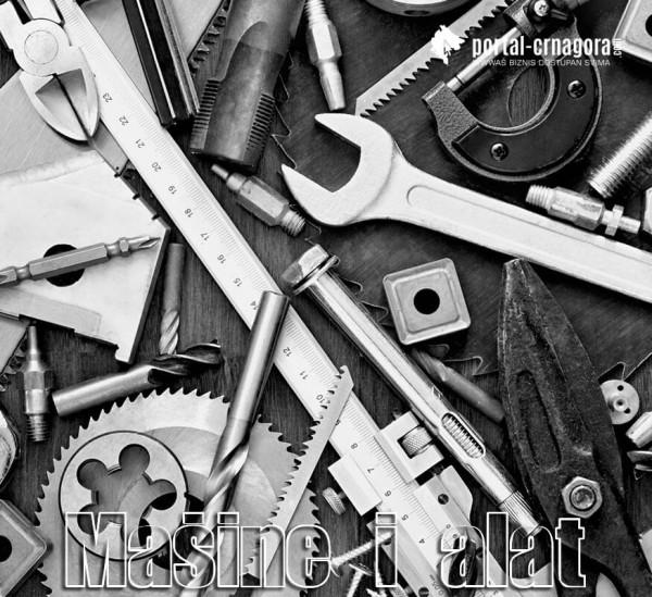 mašine i alat crna gora