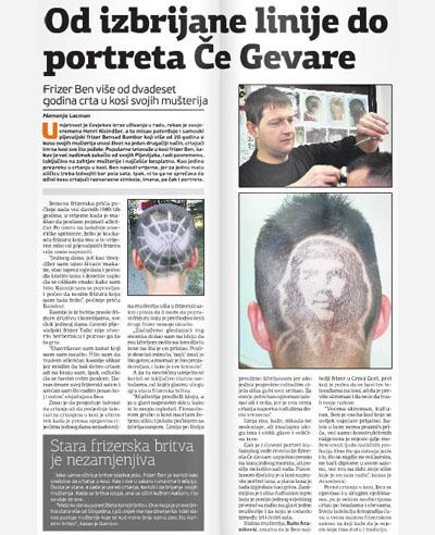 frizer ben dnevne novine
