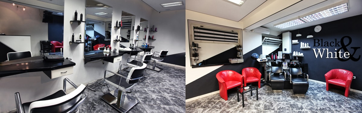 frizerski salon black and white crna gora